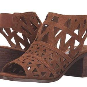 Steve Madden Estee Women US 7.5 Brown Sandals
